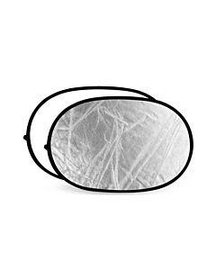 Sunbounce Reflektor - 150x100cm - SØLV/HVID ***NEDSAT 50%