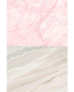 Marble Pink -dobbeltsidet