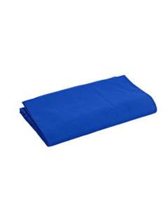 Blå stofbaggrund 300 x 600 cm