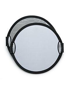 Beauty Reflektor  SØLV/HVID -  60cm